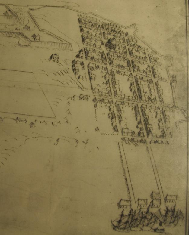 Kart over Christiania, Van Geelkercks perspektiv fra 1648