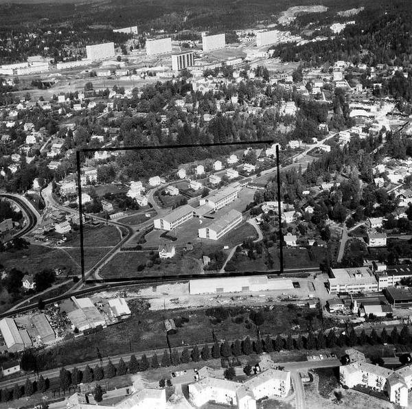 Grorud 1963 Widerøe Byark