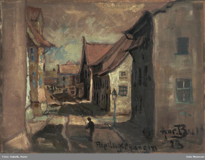 RG Henrik Backer 1928