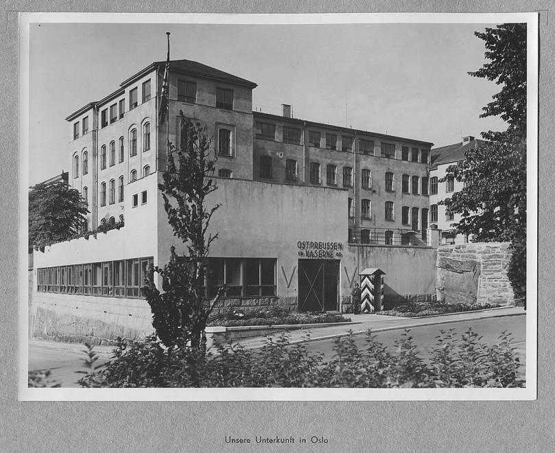 Kaserne Ost-Preussen - Unsere Unterkunft in Oslo