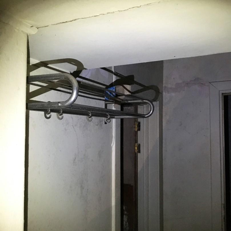 Ruseløkka bunker garderobe utenfor telefonavlyttingen