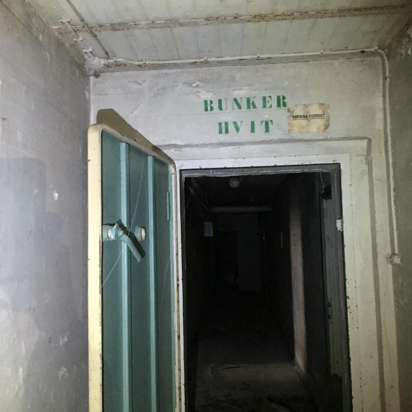 Ruseløkka bunker hvit