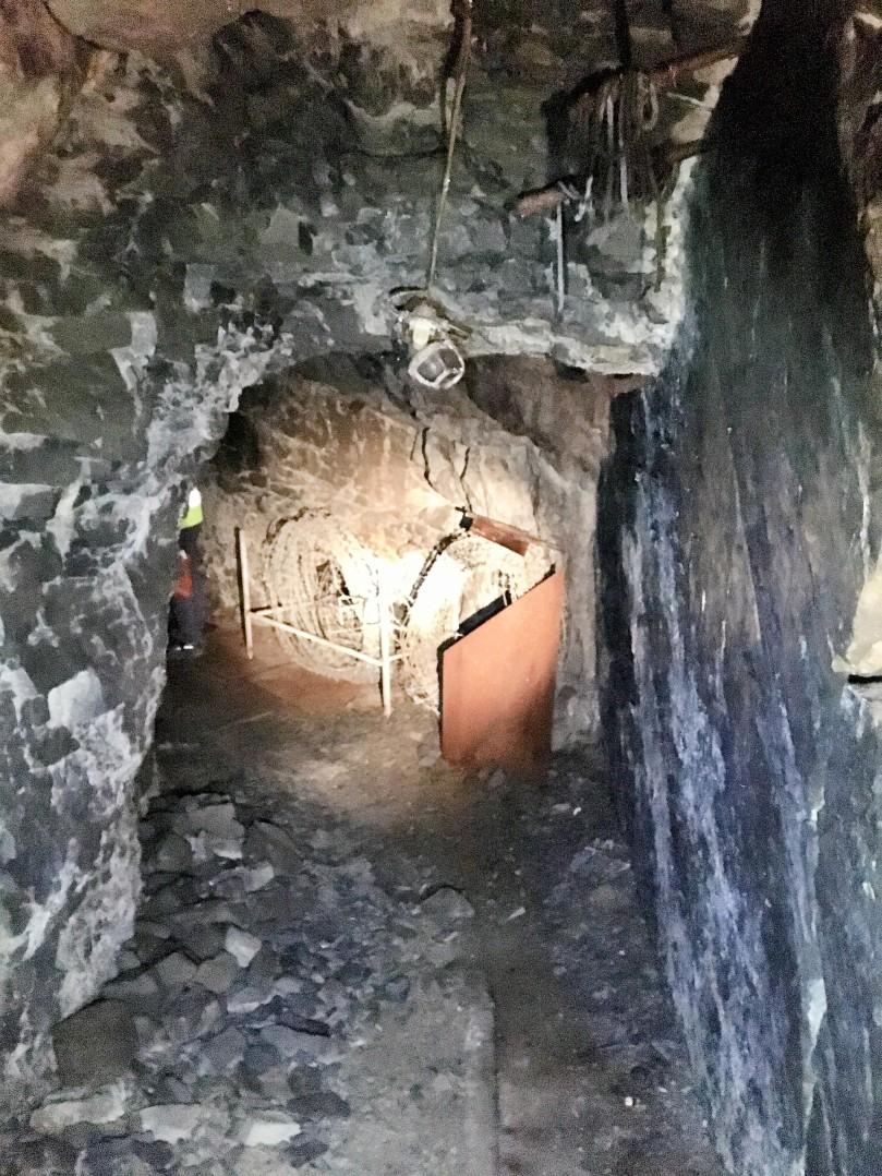 Ruseløkka bunker nødutgangen